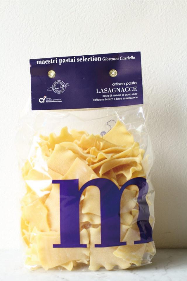 ラザニャッチェ パスタ マエストリ社 イタリア産 (Italian Lasagnacce by Pasta Maestri) 商品