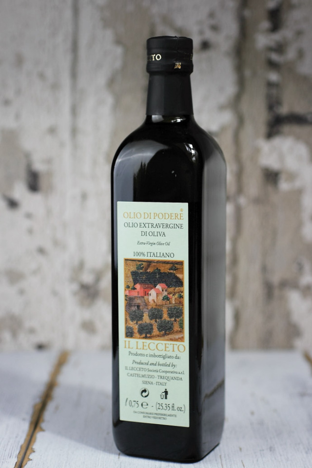 イル・レッチェート エキストラバージンオリーブオイル イタリア・トスカーナ産 (Italian EXV olive oile by il lecceto) 商品