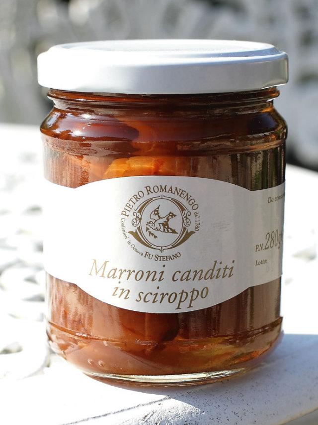 マロンのシロップ漬け ピエトロ・ロマネンゴ (Marroni canditi in sciroppo Pietro Romanengo) 商品