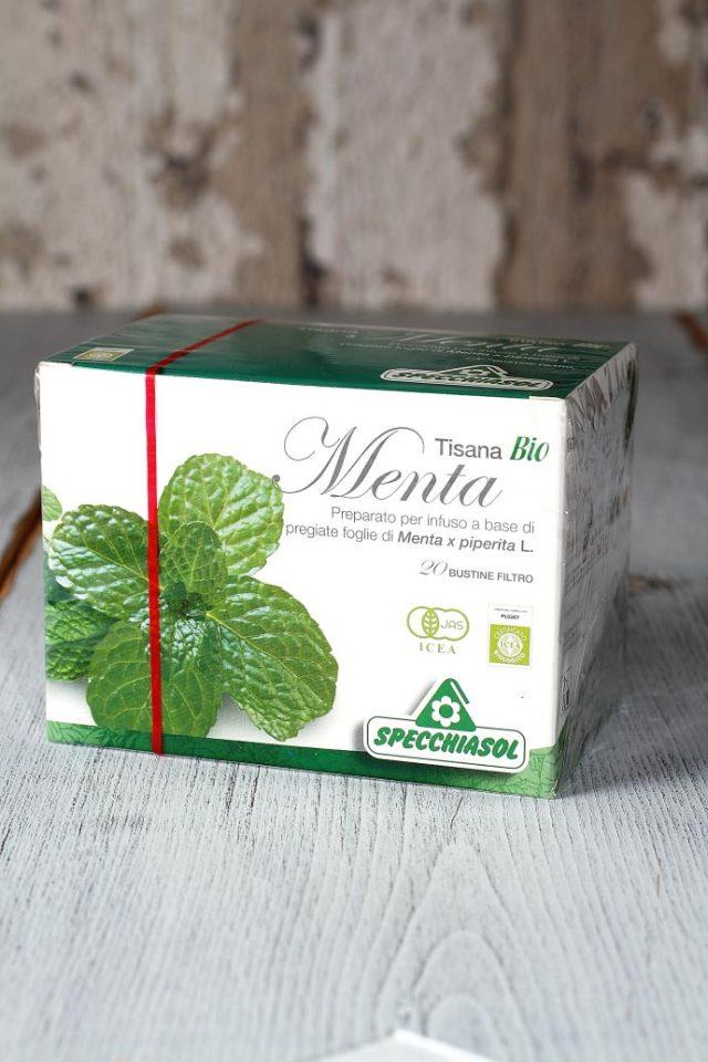 オーガニック・ミントティー スペッキアソル社 イタリア産 (Italian Mint tea by Specchiasol) 商品