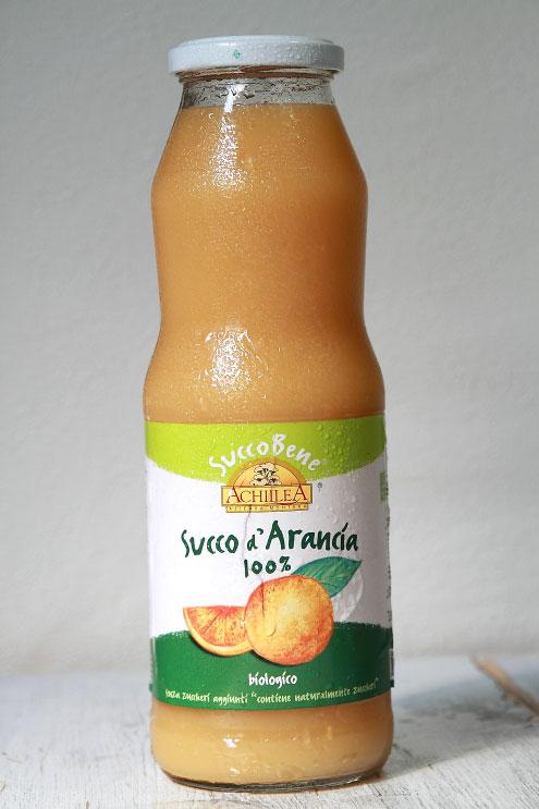 イタリア・アキレア オレンジ100%ジュース