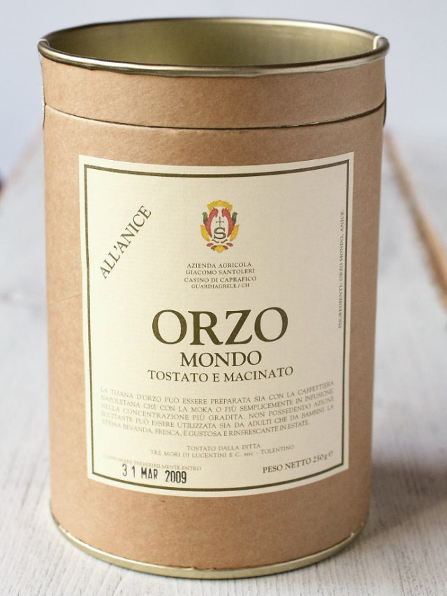 オルツォ・モンド 大麦コーヒー (Orzo Mondo by Giacomo Santoleri) 商品
