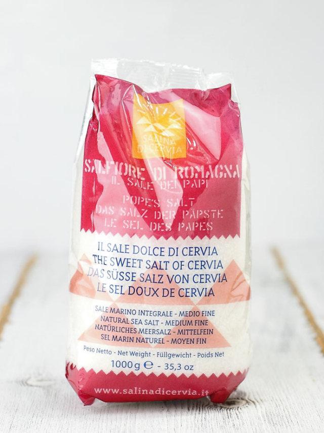 Salina di Cervia サルフィオーレ(細粒)1kg (Italian sweet salt of cervia) 商品