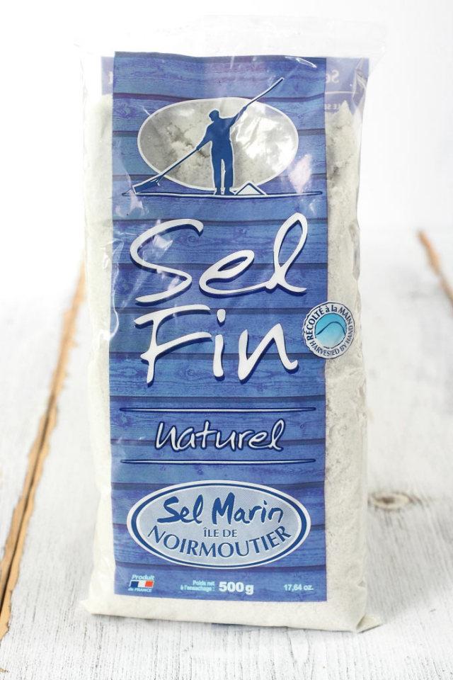 海塩 (細粒) セル・マリン ファン アクアセル社 フランス産 (French Fine Salt by Aquasel) 商品
