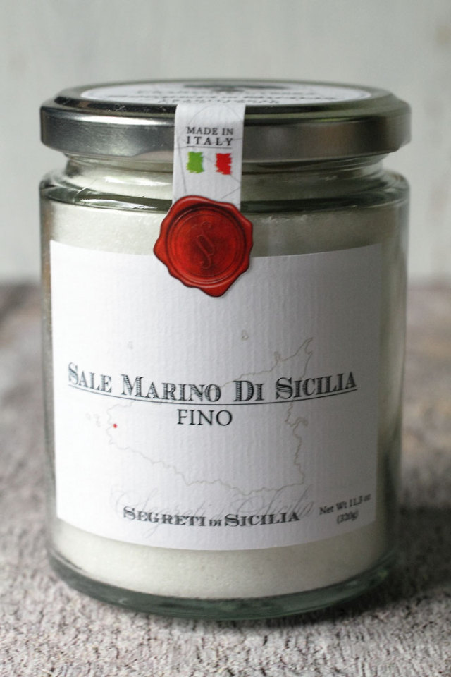 海塩 細粒 フラントイ・クトレラ社 シチリア イタリア産 (Italian Sicilia salt by Frantoi Cutrera) 商品