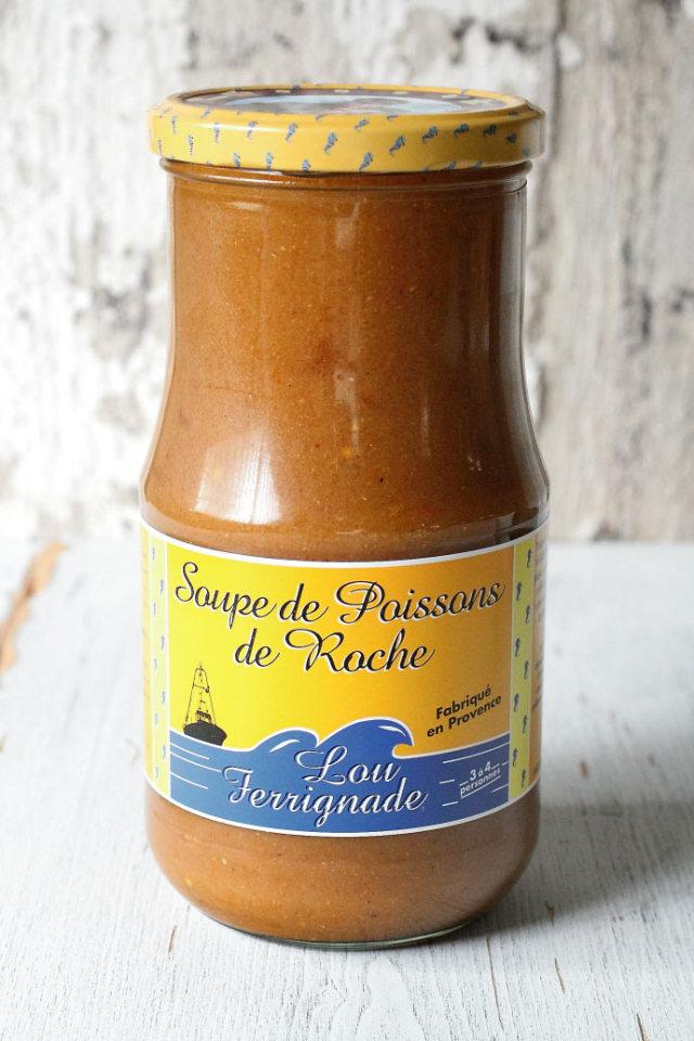 魚介のスープ スープ デ ポワソン フェリーノ社 フランス プロヴァンス産 850ml (Soupe de Poissons France by Ferrigno) 商品
