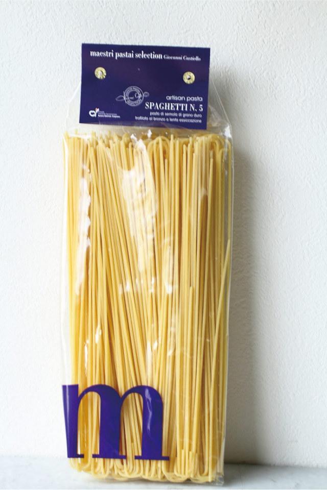 スパゲッティ No.5 1.7mm パスタ マエストリ社 イタリア産 (Italian Spaghetti No.5 by Pasta Maestri) 商品