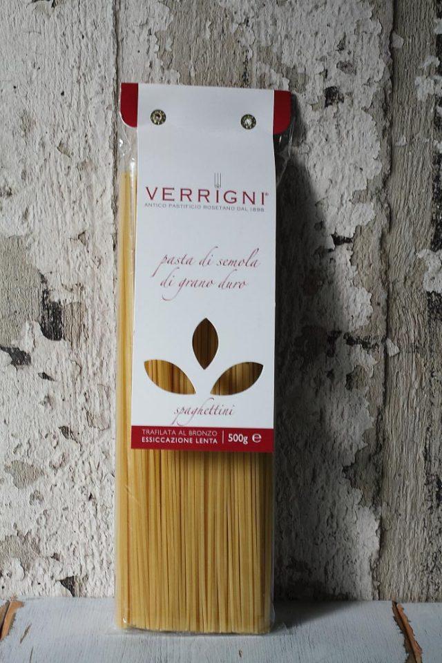 スパゲティー 1.7mm ベリーニ (ヴェリーニ)社 イタリア産 (Italian Spaghetti 1.7mm by Verrigni) 商品