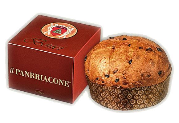 パンブリアコーネ (パネトーネ) ボンチ社 イタリア産 (Italian panburiacone panetone by bonci) 商品