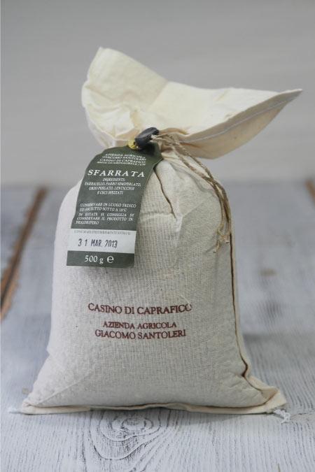 スファッラータ/豆と麦を砕いたミックス (Sfarrata) 500g ジャコモ・サントレーリ(Giacomo Santoleri)