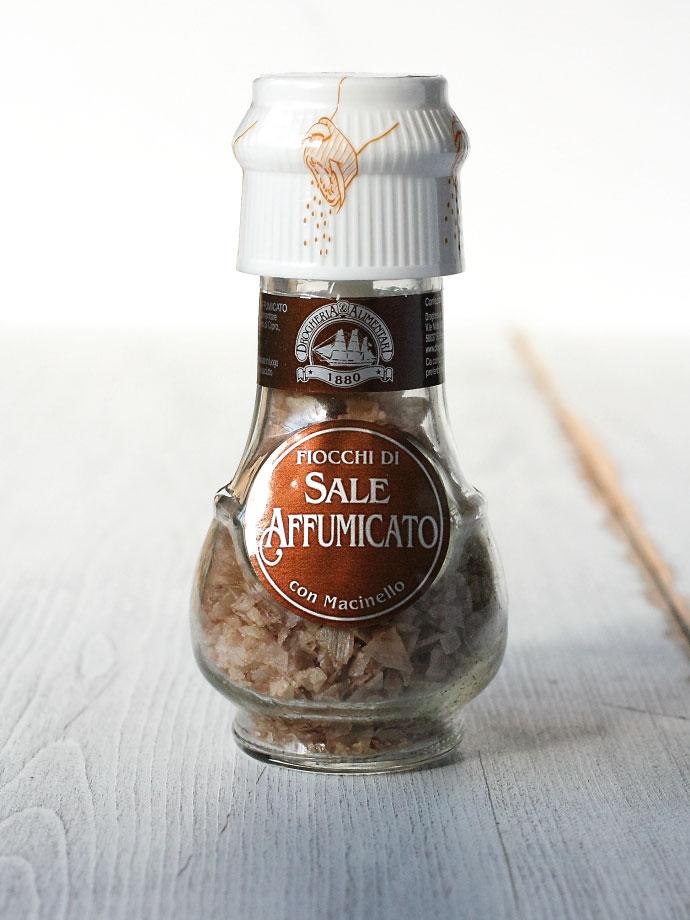 ミル付 スモークフレーバー ソルト キプロス産 (Cyprus Smoking Flavor Salt with Mill by DROGHERIA & ALIMENTARI) 商品