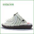 エスタシオン靴  estacion  et40iv アイボリ— 【ワクワクしちゃう。。エスタシオン すごく可愛い・ぐるぐる。。トング】