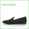 franco salto フランコサルト fs90bl ブラック 【靴がもっと好きになる**新鮮・ダイヤモンドカットレザー** francosalto 軽量170gスリッポン】