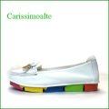 carissimo alte カリシモアルテ cs00312iv  アイボリー 【可愛さ満開・・ carissimoalte ソフトなソールの・・*リボン*スリッポン】