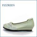 FIZZ REEN フィズリーン  fr10bg サンドベージュ 【今スグなじむ 柔らかレザーと・・かわいい丸さの・・fizzreen リボン・パンプス】