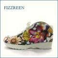 フィズリーン fizz reen  fr550fw フラワー 【ソックスみたい履きやすい・・・ お花模様の・・フィズリーン 楽らくアンクル】