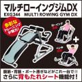 [廃盤品在庫処分]【新品】【フィットネス/健康/ダイエット/トレーニング/エクササイズ/脂肪燃焼/筋トレ】EXG244/マルチローイングジムDX/アルインコ(ALINCO)