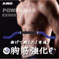【新品】【フィットネス/健康/ダイエット/トレーニング/エクササイズ/脂肪燃焼/筋トレ】EXG053/パワーバー/アルインコ(ALINCO)