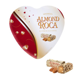 アーモンドロカ ハート缶