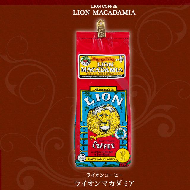 LION COFFEE ライオンマカダミア