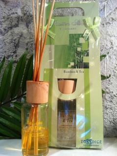 ルームフレグランス/ディフューザー bamboo&tea