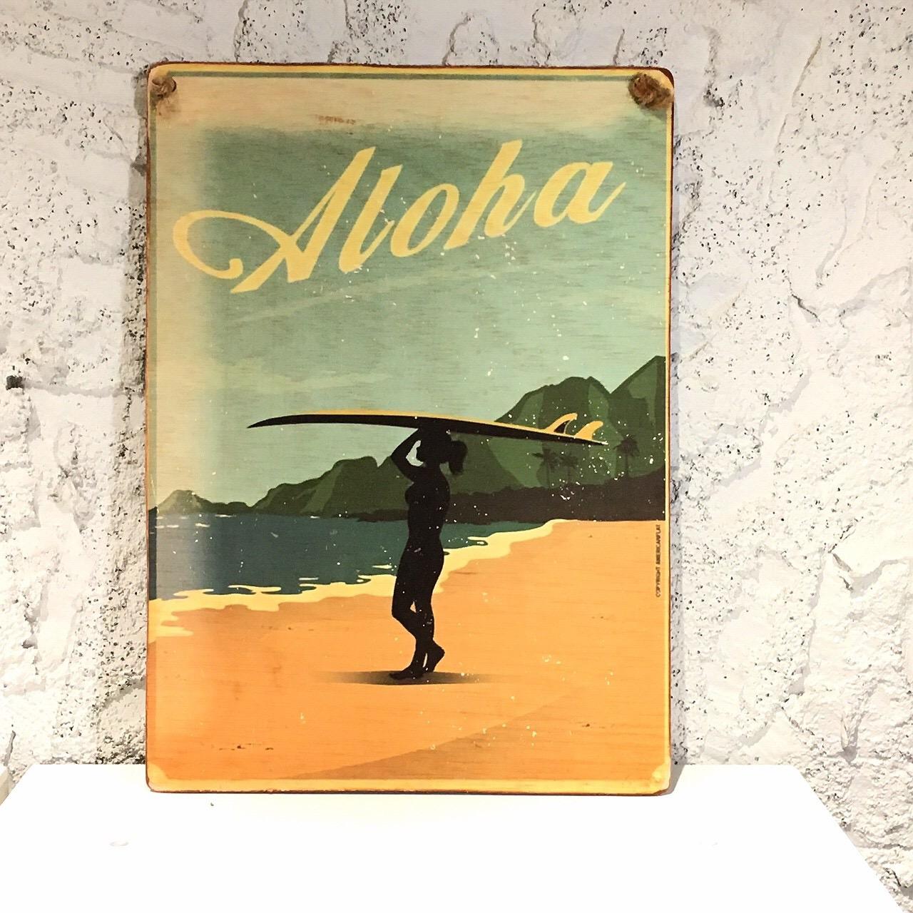 ヴィンテージピクチャー/aloha