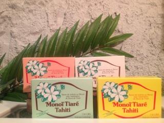 【MONOI TIARE TAHITI】タヒチモノイティアレ石鹸
