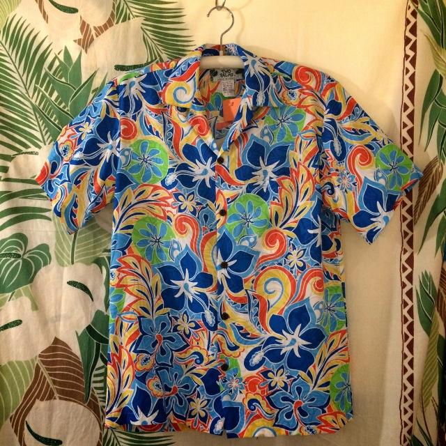 Mensアロハシャツ /BL/Sサイズ