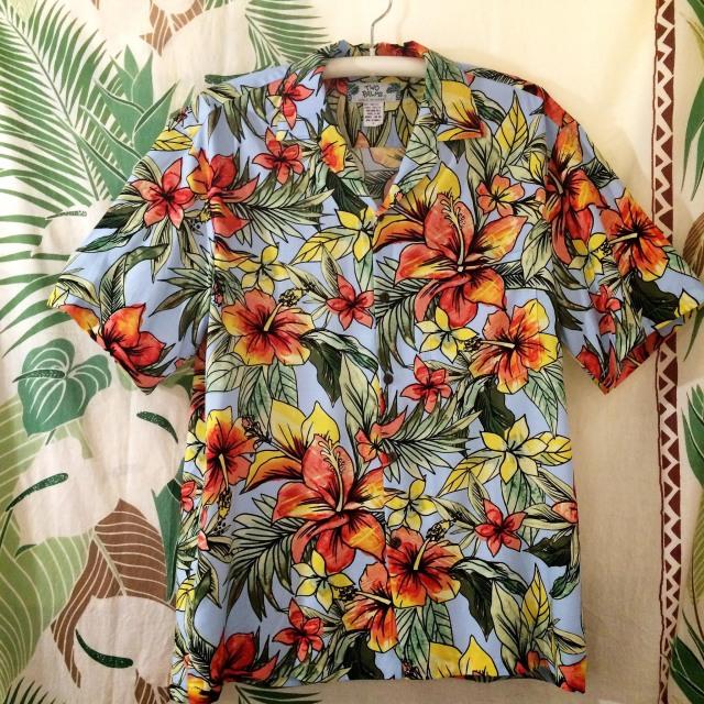 Mensアロハシャツ /スターダストライトBL/Mサイズ