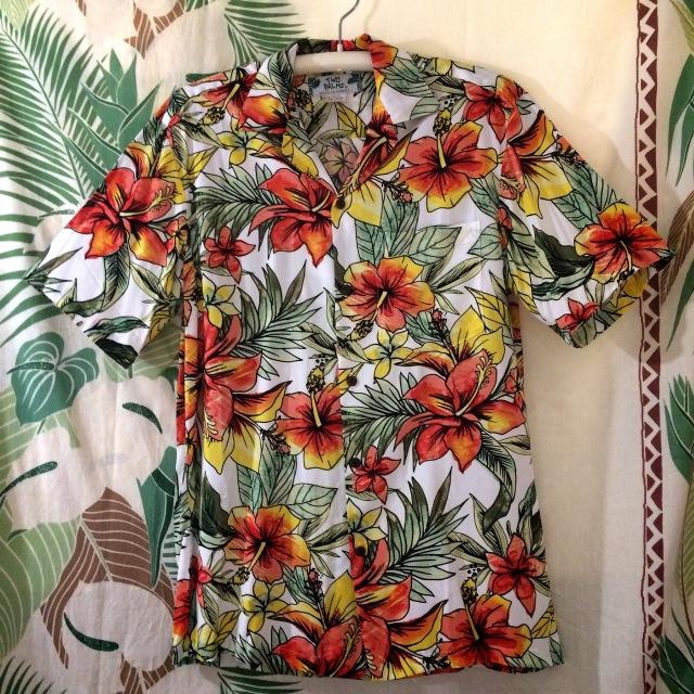 Mensアロハシャツ /スターダストライトCR/MサイズSサイズ
