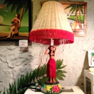 Hawaiian ランプ/フラガール