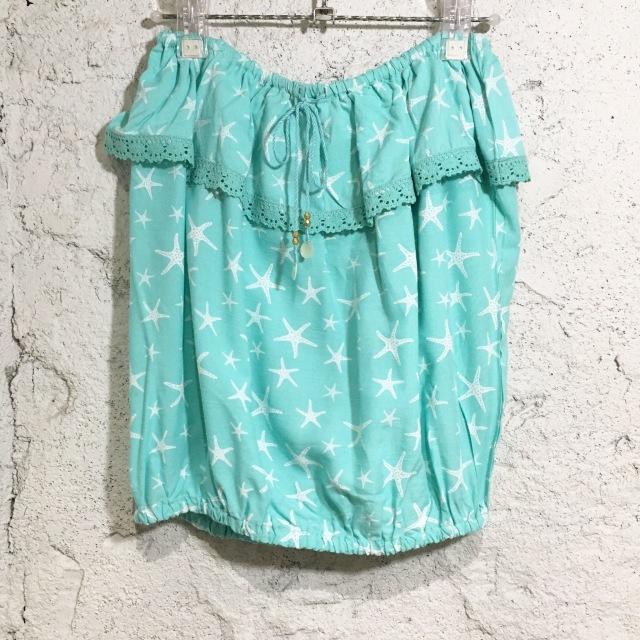 スターフィッシュTOPS/mint【ハワイアンショップ アロハラバーズ】
