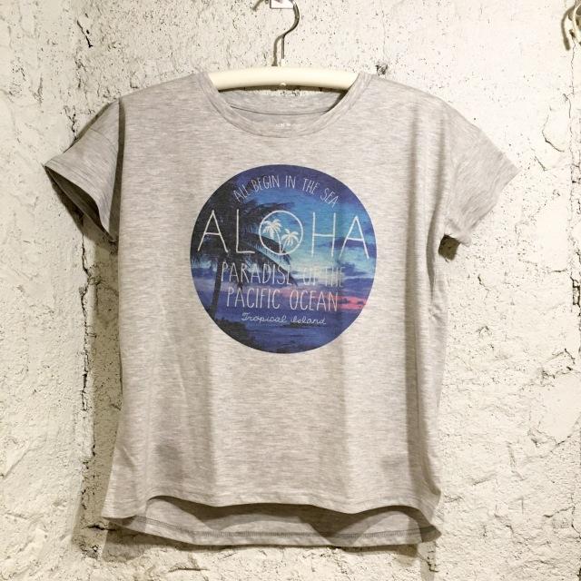 ALOHAグラフィック!ゆるTシャツ/FreeGRY【ハワイアンショップ アロハラバーズ】