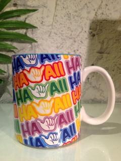 IHハワイアンマグHAWAIIロゴ