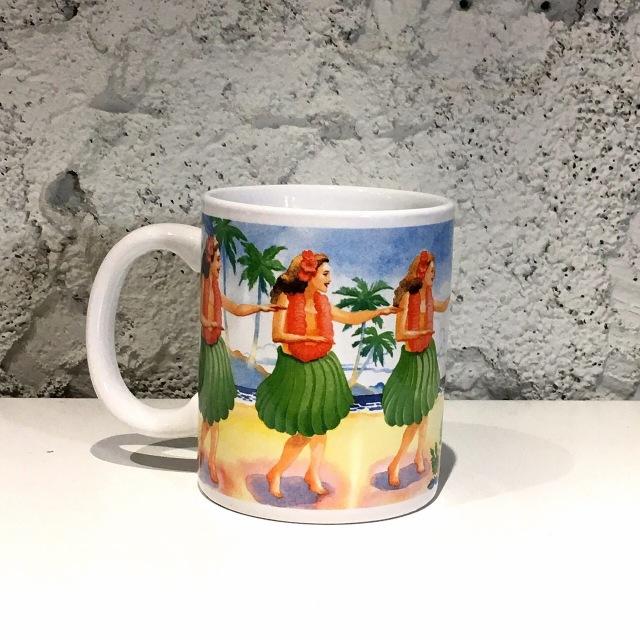 IHハワイアンマグHAWAIIフラガール
