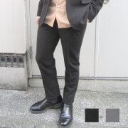 【セール】【新着】Cuirs(キュイー)メンズスラックス  オリジナルダブルニットセットアップスキニーパンツ新作デザイン