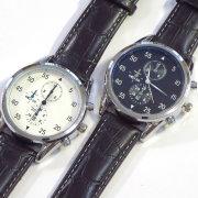 【新着】Cuirs(キュイー)メンズ腕時計 クロノグラフクオーツウオッチ新作デザイン