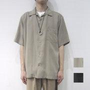 【新着】Cuirs(キュイー)メンズシャツ オリジナル半袖オープンシャツ新作デザイン