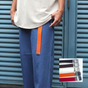 【SamuraiELO6月号5月号雑誌掲載】【新着】Cuirs(キュイー)メンズベルト ロング派手色ガチャベルト 新作デザイン
