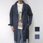 【新着】Cuirs(キュイー)メンズコート ショールカラーガウンコート新作デザイン