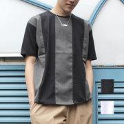 【新着】Cuirs(キュイー)メンズTシャツ 切り替えTシャツ新作デザイン