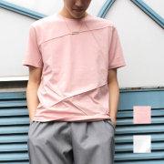 【新着】Cuirs(キュイー)メンズTシャツ ステッチデザインTシャツ新作デザイン