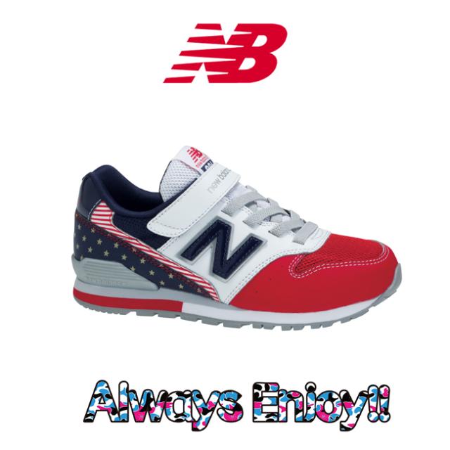 ニューバランス KV996 RED NAVY 星条旗 星入り SRY