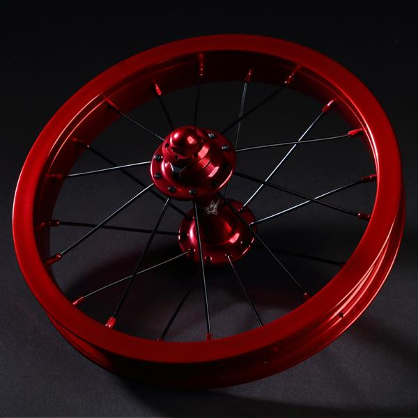 DADDY LAB 【ストライダー】 【カスタムパーツ】 【ホイール】 ダディラボ Black Light+ X-WHEEL タイヤセット