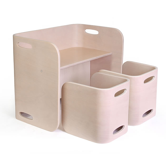 【COLO COLO Chair & Desk】 コロコロ チェア&デスク専用ラグ color:アイボリー