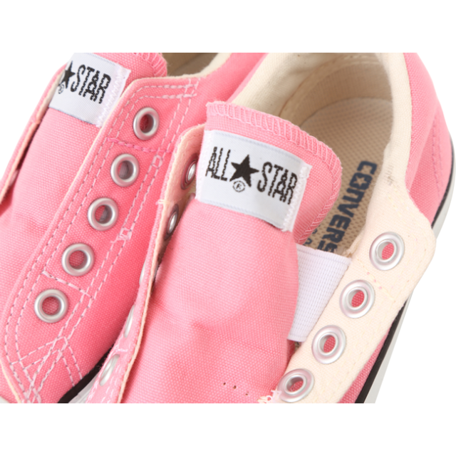【converse(コンバース)】 CHILD ALL STAR SLIP OX/ ピンク (チャイルド オールスター スリップ OX) キッズスリッポン アップ