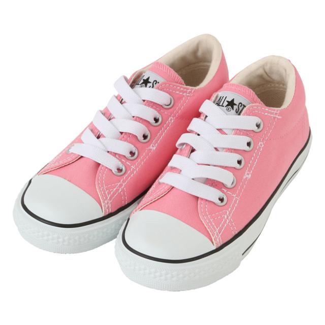 【converse(コンバース)】 CHILD ALL STAR SLIP OX/ ピンク (チャイルド オールスター スリップ OX) キッズスリッポン 可愛い