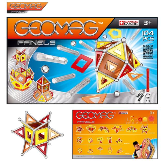 【GEOMAG】数検2級に史上最年少で合格したスーパー小学生 高橋洋翔くんが使っていたということで、有名になった知育玩具!パネル104