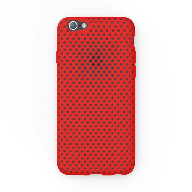 【 iphone6 case】 AndMesh 日本製 RED レッド image03
