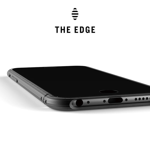 【 iphone6 case】  The Edge ジュラルミン 日本製